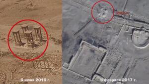 Rusya yayınladı İşte Palmiranın son görüntüleri