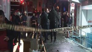 Kağıthane'de molotoflu ve ses bombalı saldırı