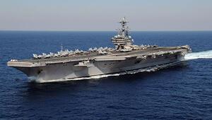 ABD uçak gemisi DEAŞ operasyonları için Akdenizde