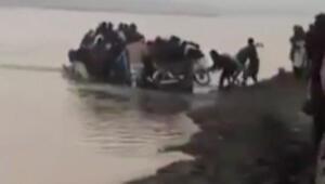 Göçmen teknesi böyle battı
