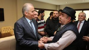 Sinemacılardan Başkan Zolana ziyaret