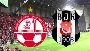 Hapoel Beer Sheva Beşiktaş UEFA Avrupa Ligi maçı ne zaman saat kaçta, hangi kanalda
