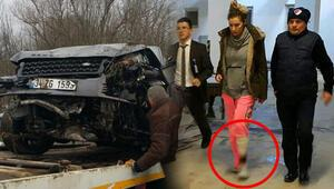 Son dakika haberi: Sıla Gençoğlu trafik kazası geçirdi