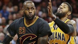Cleveland Cavaliers yıldızlarıyla kazandı