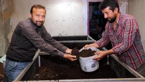 Melikgaziden, solucan gübresi üretimi kursu