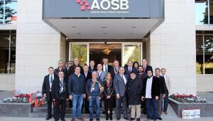 Lübnanlı iş adamları AOSByi gezdi