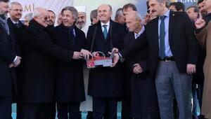 fotoğraflar// Taksim Camii temel atma töreni