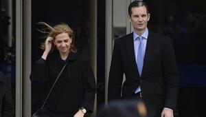 İspanya Kralının ablası aklandı, eniştesine 6 yıl hapis