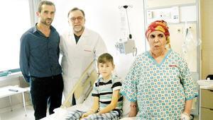 Minik hastanın karaciğeri başka hastaya ilaç oldu