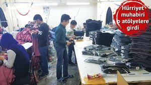 İşte çocuk işçiler