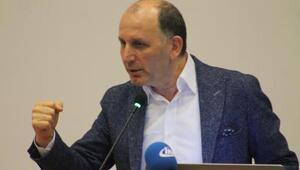 Trabzonspor Başkanı Usta seminerde konuştu