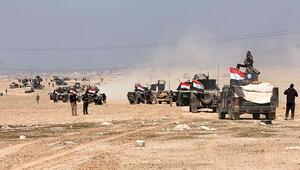 Irak ordusu Musul Havaalanı'na girdi