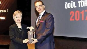 Vehbi Koç ödülü Prof. Ahunbayın