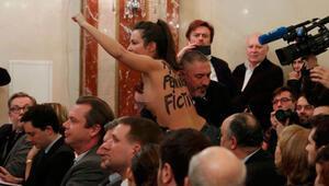 Le Penin toplantısında FEMEN krizi