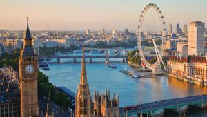 Yağmurlu kraliyet şehri: Londra