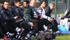 Beşiktaş, Sancaktepe Belediyespor ile hazırlık maçı oynadı