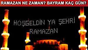 Ramazan Ayı ne zaman başlayacak