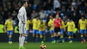 Real Madrid 16 hafta sonra liderlik koltuğundan indi