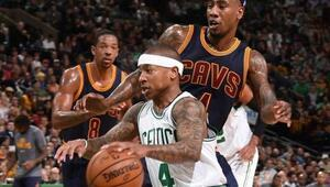 Doğu Konferansının zirvesindeki düelloyu Celtics kazandı