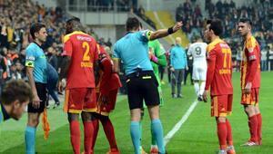 Kayserispor-Fenerbahçe Ziraat Türkiye Kupası maçı fotoğrafları