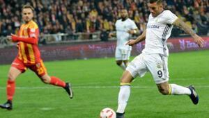 Kayserispor - Fenerbahçe Ziraat Türkiye Kupası maçı fotoğrafları