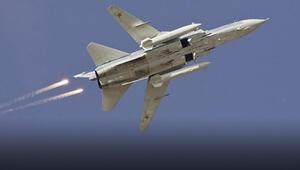 Karadenizde gergin anlar Rus uçakları...