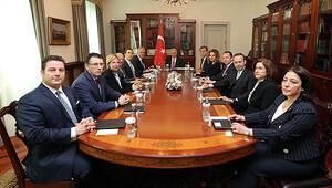 TÜSİAD heyeti Başbakanla görüştü