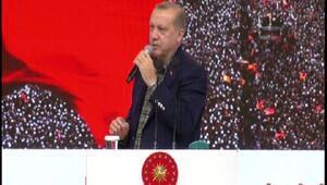 Cumhurbaşkanı Erdoğan: Ben istersem gelirim kapıdan sokmadığınız zaman da dünyayı ayağa kaldırırım