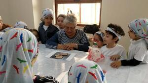 Altın Yıllar Yaşam Merkezi minik ziyaretçilerini ağırladı