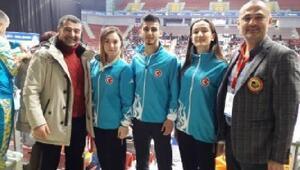 Milli karetecilerden 1 Avrupa şampiyonluğu, 2 de gümüş madalya geldi