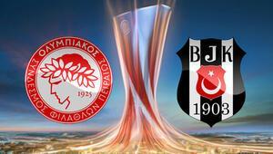 Olympiakos Beşiktaş maçı için heyecan dorukta.. Beşiktaşın maçı hangi kanalda saat kaçta