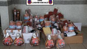 Edirnede 477 kilo domuz eti ele geçirildi