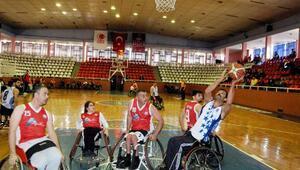 Engelli basketbolcular Karabüke hazırlanıyor