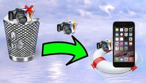 Telefondan silinen fotoğrafları geri getirmenin yolu