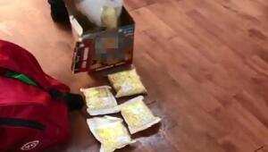 Bebek bisküvisi kutusunda 14 bin uyuşturucu hap ele geçirildi