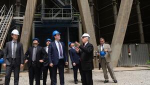 Başkan Dündar, Doğalgaz Çevrim Santralini ziyaret etti
