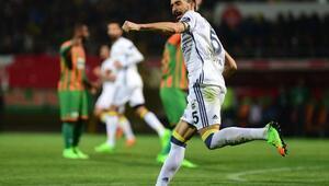 Aytemiz Alanyaspor- Fenerbahçe maçı fotoğrafları(4)
