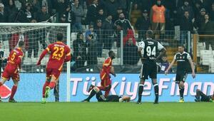 Beşiktaş 2-2 Kayserispor/ MAÇ SONUCU