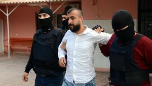 Polise molotof kokteyli atan PKKlı yakalandı