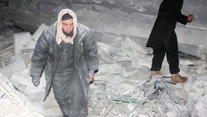 Halepteki cami saldırısından kareler