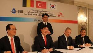 Ünal Aysal ve G. Koreli SK Grouptan bir milyar euroluk ortaklık
