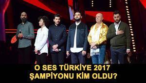 O Ses Türkiye 2017 şampiyonu kim oldu İşte O Ses Türkiye yarışmasını kazanan isim