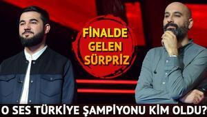 O Ses Türkiye 2017 şampiyonu kim oldu O Ses Türkiyeyi kazanan isim