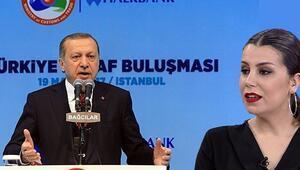 Cumhurbaşkanı Erdoğanın örnek gösterdiği esnaf Göknur Damat