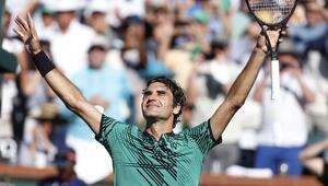 Indian Wellste şampiyon Roger Federer
