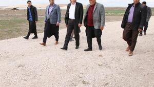 Başkan Demirkol, yol çalışmalarını denetledi