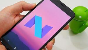 Android Nougat güncellemesi hangi telefonlara yüklenecek