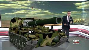 TGRT stüdyosuna F-16 ve tank girdi