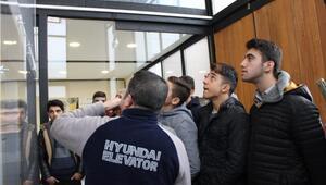 Hyundai yaptı, geleceğin asansörleri böyle olacak