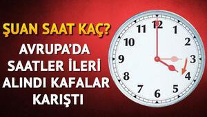 Türkiyede şuan saat kaç, saatler ileri mi alındı İşte kafa karışıklığının sebebi